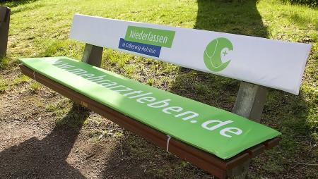 Sitzbank-Promotion